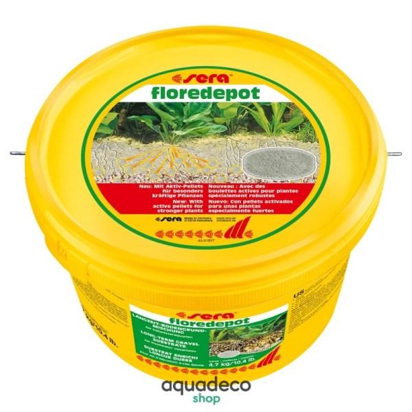 Sera floredepot - субстрат под осн. грунт для растений 4