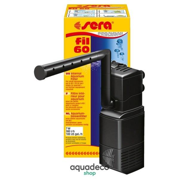 Sera fil 60 - фильтр внутренний для аквариумов до 60 л: купить в Киеве с доставкой