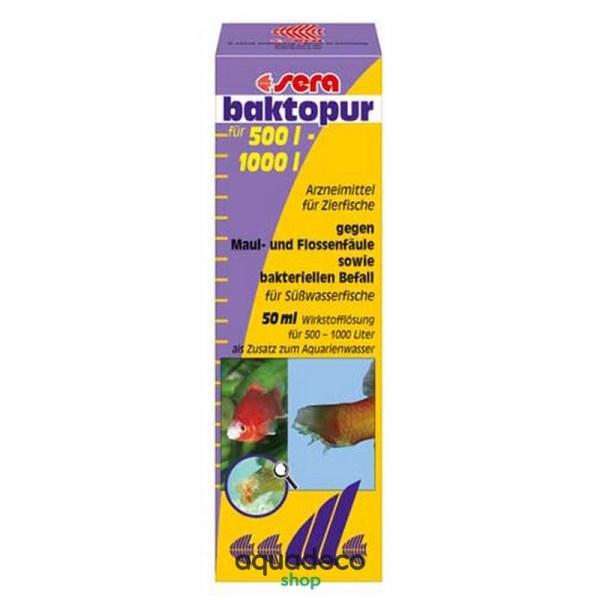 Sera baktopur - Бакты. инф. (Плавниковая гниль) на 2000 л - 100 мл: купить в Киеве с доставкой