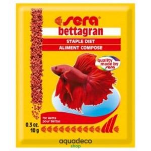 Sera bettagran - корм для рыб петушков 10 г