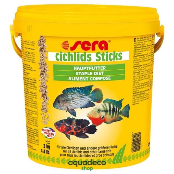 Sera cichlids sticks - корм для цихлид и др. больших рыб. Гран. 10000 мл: купить в Киеве с доставкой