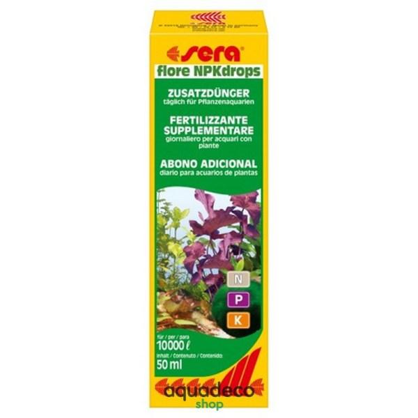 Sera flore NPKdrops - удобрения для растений (макроэлементы) на 10000 л 50 мл: купить в Киеве с доставкой