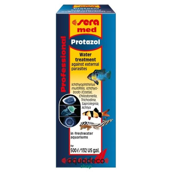 Sera med Prof. Protazol -борьба с ихтиофтириозом. на 500 л - 25 мл: купить в Киеве с доставкой