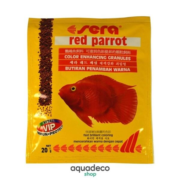 Sera red parrot - корм для рыб Красный попугай 20 г: купить в Киеве с доставкой