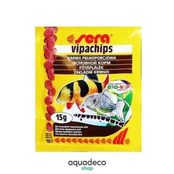 Sera Vipachips - корм для рыб обитающих возле дна. Чипсы 15 g: купить в Киеве с доставкой