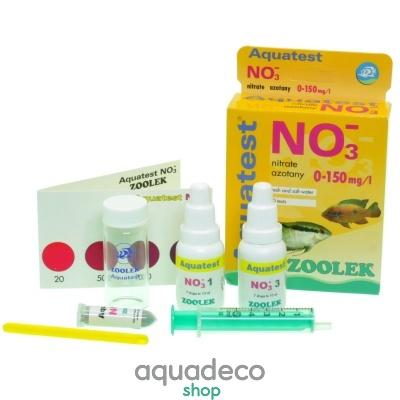 Купить Тест на содержания нитратов Zoolek Aquatest NO3 в Киеве с доставкой по Украине