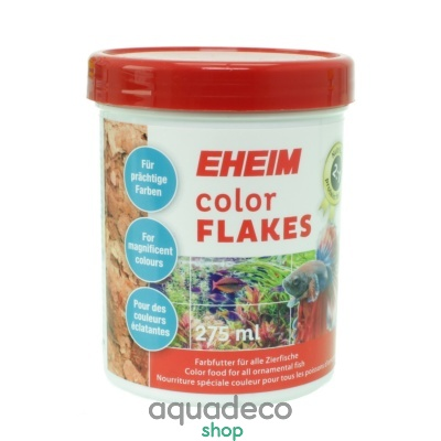 Купить Корм для усиления раскраски в хлопья EHEIM color FLAKES 275мл в Киеве с доставкой по Украине