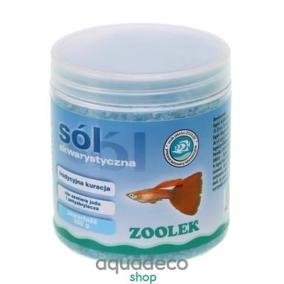 Купить Соль для лечение пресноводных рыб Zoolek в Киеве с доставкой по Украине