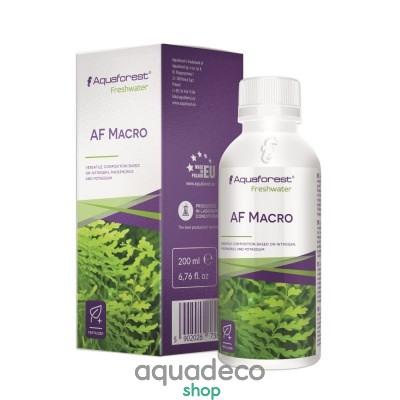 Купить Макроелементы для растений Aquaforest AF Macro 200мл в Киеве с доставкой по Украине