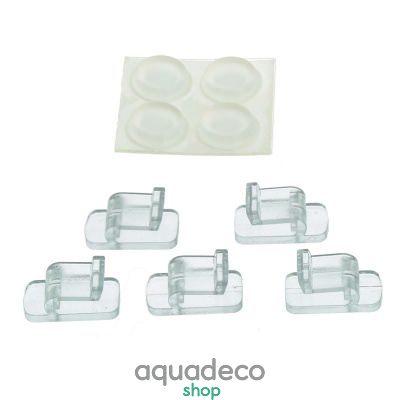 Купить Клипсы для стекла (5x) и ножки (4x) для EHEIM aquastyle_nano shrimp в Киеве с доставкой по Украине
