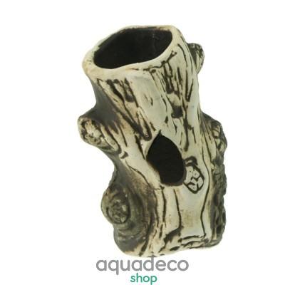 Купить Грот керамический Aqua Nova бревно 12x7см в Киеве с доставкой по Украине