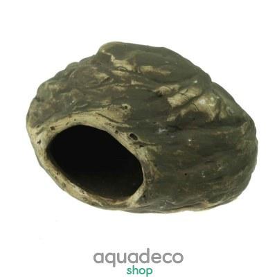 Купить Грот керамический Aqua Nova декоративный камень 14x7x9см в Киеве с доставкой по Украине