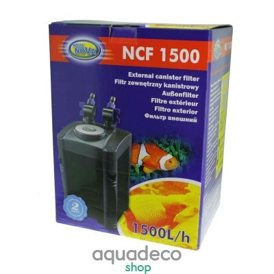 Купить Внешний фильтр Aqua Nova NCF-1500 в Киеве с доставкой по Украине