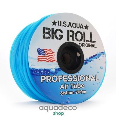 Купить Шланг U.S.Aqua Airline Blue синий 4_6мм силиконовый в Киеве с доставкой по Украине