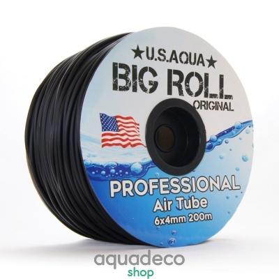 Купить Шланг U.S.Aqua Airline Black черный 4_6мм силиконовый в Киеве с доставкой по Украине