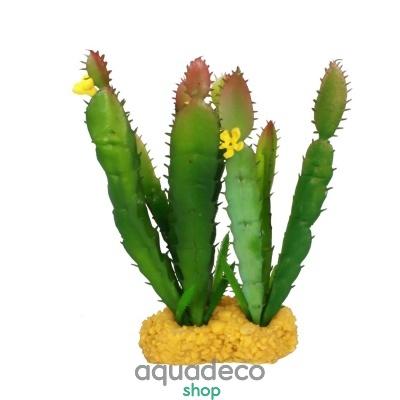 Купить Искусственное растение Yusee Высокий кактус 12x10x18см в Киеве с доставкой по Украине