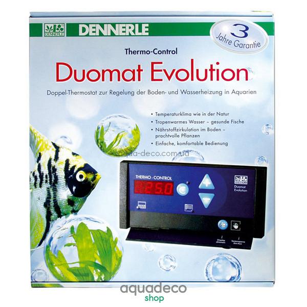 Электронный термостат для регулирования температуры воды и дна аквариума DUOMAT Evolution: купить в киеве, цена, фото, обзор, инструкция. Aqua-Deco.com.ua