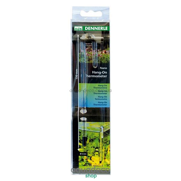 Стеклянный термометр Nano HangOn Thermometer: купить в киеве, цена, фото, обзор, инструкция. Aqua-Deco.com.ua