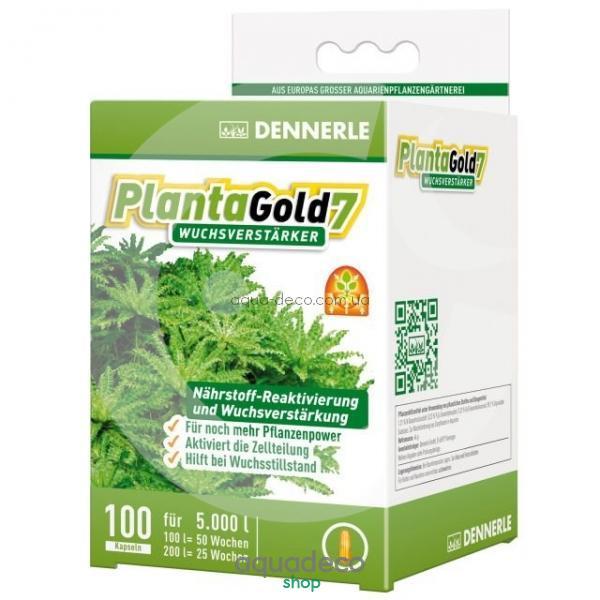 Стимулятор роста для всех аквариумных растений в капсулах PlantaGold 7, 100 шт.: купить в киеве, цена, фото, обзор, инструкция. Aqua-Deco.com.ua