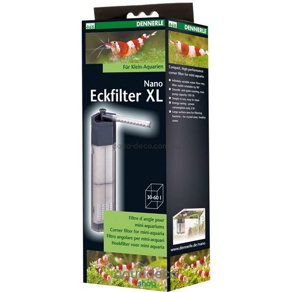 Фильтр Nano Clean Eckfilter, угловой, для аквариумов 40-60 л.: купить в киеве, цена, фото, обзор, инструкция. Aqua-Deco.com.ua