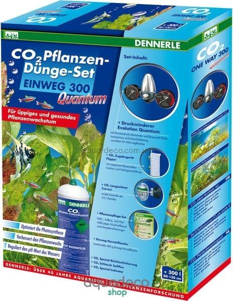 Комплект для удобрения растений CO2 EINWEG 300 Quantum: купить в киеве, цена, фото, обзор, инструкция. Aqua-Deco.com.ua