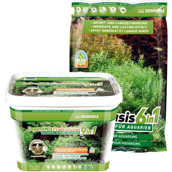 Профессиональная грунтовая подкормка для аквариумных растений DeponitMix Professional 9 in 1, 2,4 кг: купить в киеве, цена, фото, обзор, инструкция. Aqua-Deco.com.ua