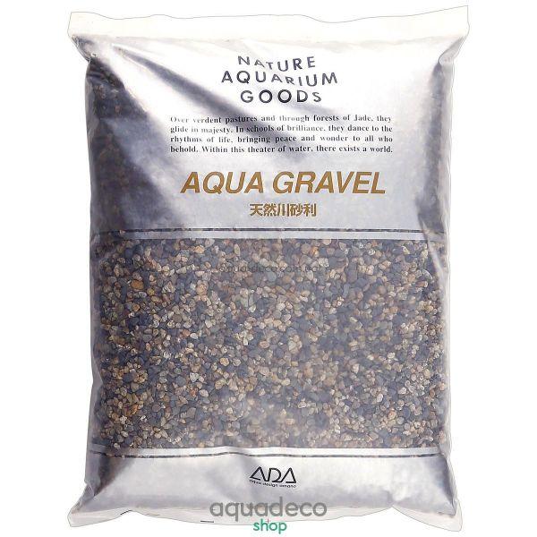 ADA Aqua Gravel S 8kg натуральный грунт для аквариума 106-5011 - aqua-deco.com.ua