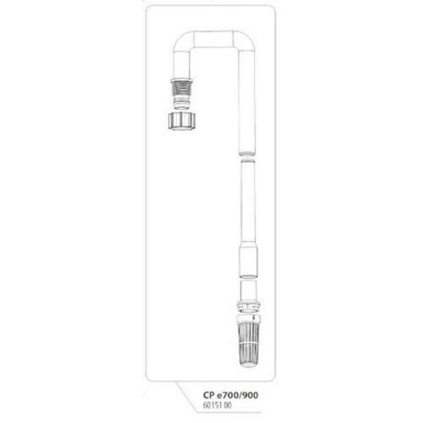JBL Запасная часть патрубок для фильтра Ин Сет, 12/16 (е700/е900).