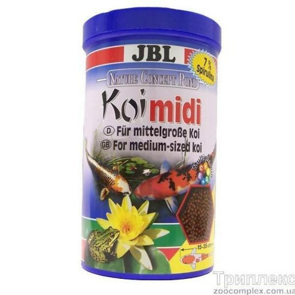 Корм для рыб JBL KOI Midi, 5.5 л