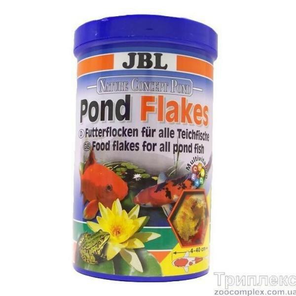 JBL POND Flakes корм для прудовых рыб, 1 л