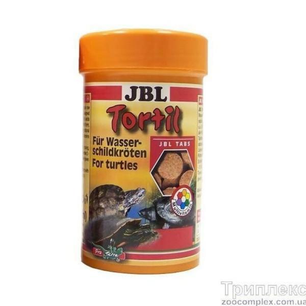 JBL Tortil корм в таблетках для водных и болотных черепах, 100 мл