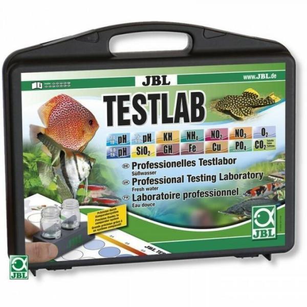 Чемоданчик JBL Testlab с тестами для измерения 13 параметров воды в пресноводных аквариумах: купить в Киеве