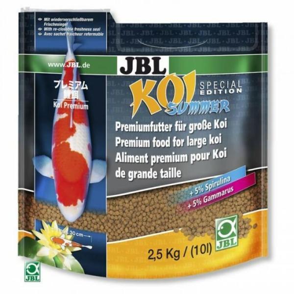 JBL Koi Summer летний корм для карпов Кои, 10 л