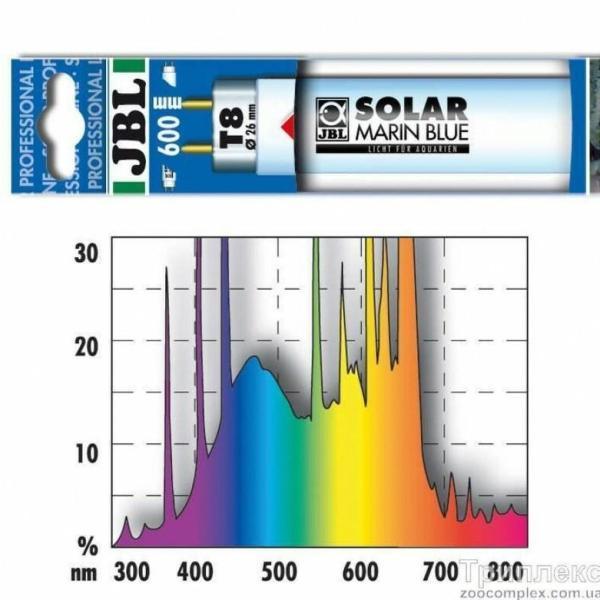 JBL Лампа Аквариумная SOLAR MARIN BLUE T8 38 Вт, 105 см.