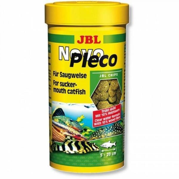 Основной корм JBL NovoPleco для небольших и средних кольчужных сомов