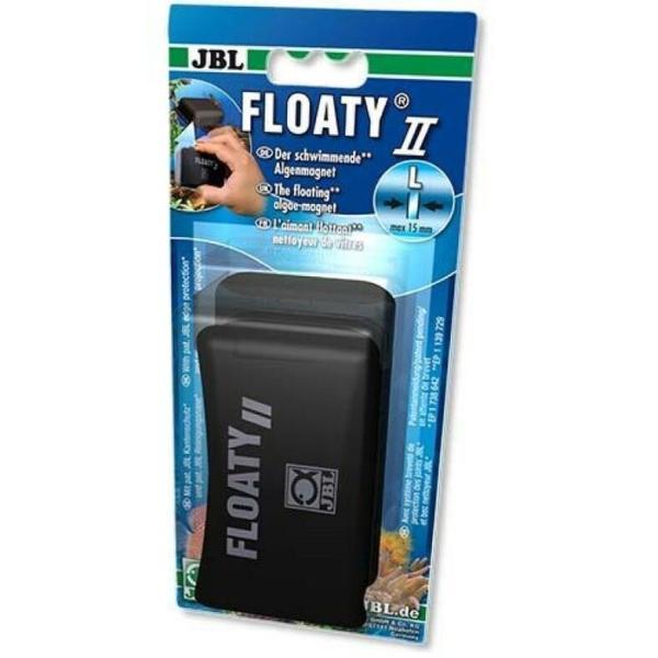 Плавающий магнитный скребок JBL Floaty II L для аквариумных стекол до 15 мм: купить в Киеве