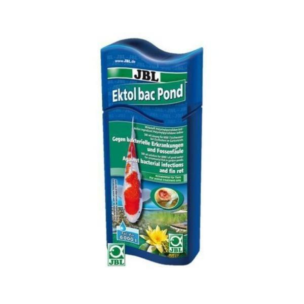 Препарат JBL Ektol bac Pond Plus против бактерий и плавниковой гнили