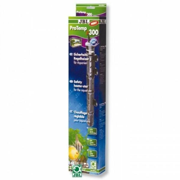 Регулируемый нагреватель 300 Вт с защитным кожухом JBL ProTemp S 300 для аквариума: купить в Киеве