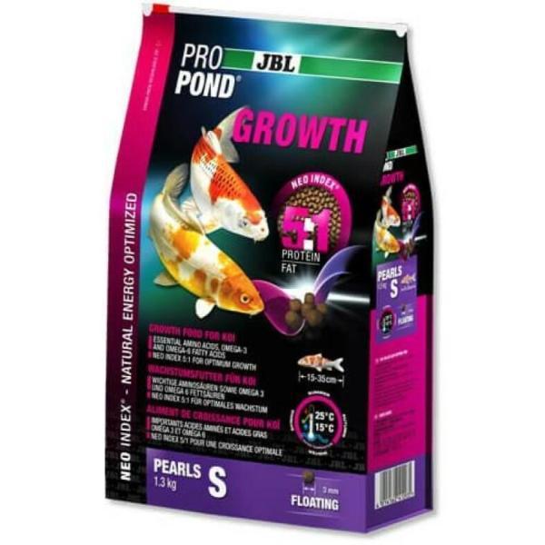 JBL ProPond Growth корм для усиления роста карпов Кои S, 1.3 кг