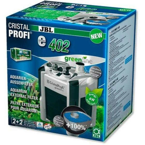 JBL CristalProfi e402 GreenLine внешний фильтр для аквариума до 120 литров
