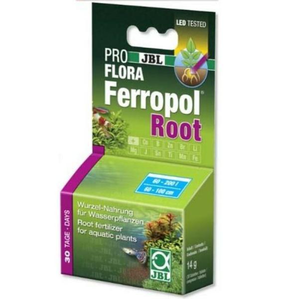 Удобрение в форме таблеток JBL PROFLORA Ferropol Root для сильных корней аквариумных растений: купить в Киеве