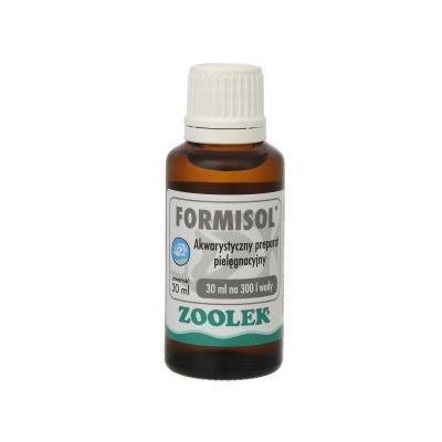 Препарат с антибактериальным и анти-плесневым эффектом ZOOLEK Formisol  (ZL0501) 0501 formisol 30ml AquaDeco Shop