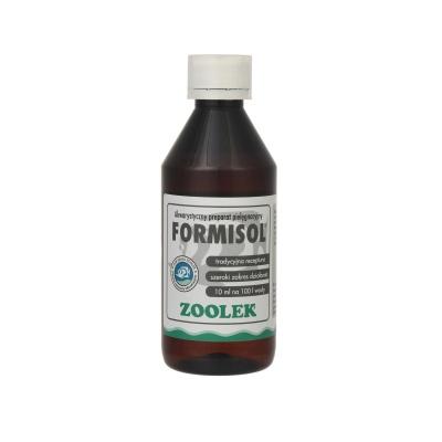 Препарат с антибактериальным и анти-плесневым эффектом ZOOLEK Formisol  (ZL0508) 0508 formisol 250ml AquaDeco Shop