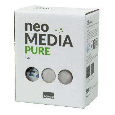 Наполнитель AQUARIO Neo Media Pure для биофильтрации с нейтральным pH  (neomedia-p1) Aquario Neo Media Pure1 AquaDeco Shop