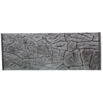 Фон плоский скала серая для аквариума ATG LINE  (PLSZ120x50)  AquaDeco Shop
