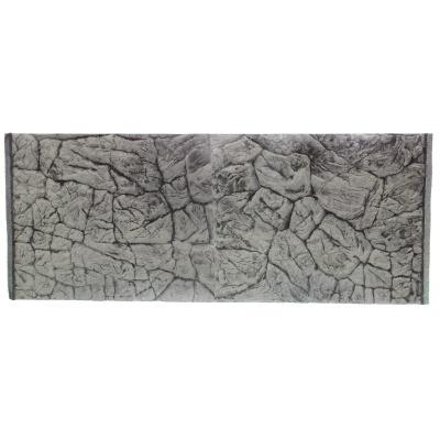 Фон плоский скала серая для аквариума ATG LINE  (PLSZ150x50)  AquaDeco Shop