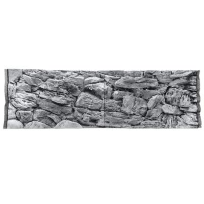 Фон скала серая для аквариума ATG LINE  (SKSZ150x50)  AquaDeco Shop