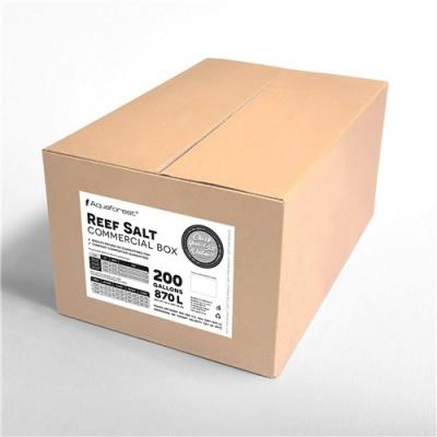 Соль рифовая AQUAFOREST Reef salt commercial box 25кг (reef-commercial-box-25) reef commercial box 25 AquaDeco Shop