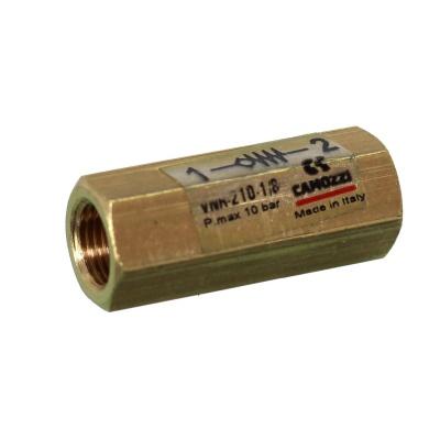 Обратный клапан CAMOZZI VNR-210-1_8 (VNR-210-1/8) VNR 210 18 AquaDeco Shop