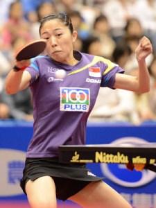 シンガポール代表ユ・モンユ